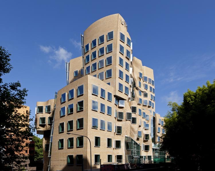 The Dr Chau Chak Wing Building by Frank Gehry