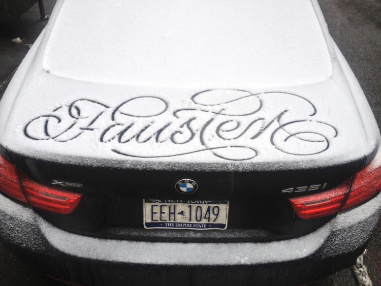 Snow Script Messages by Faust
