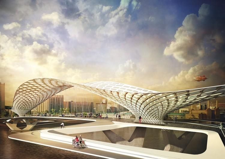 Sci-Fi Designs for London Bridge Competition