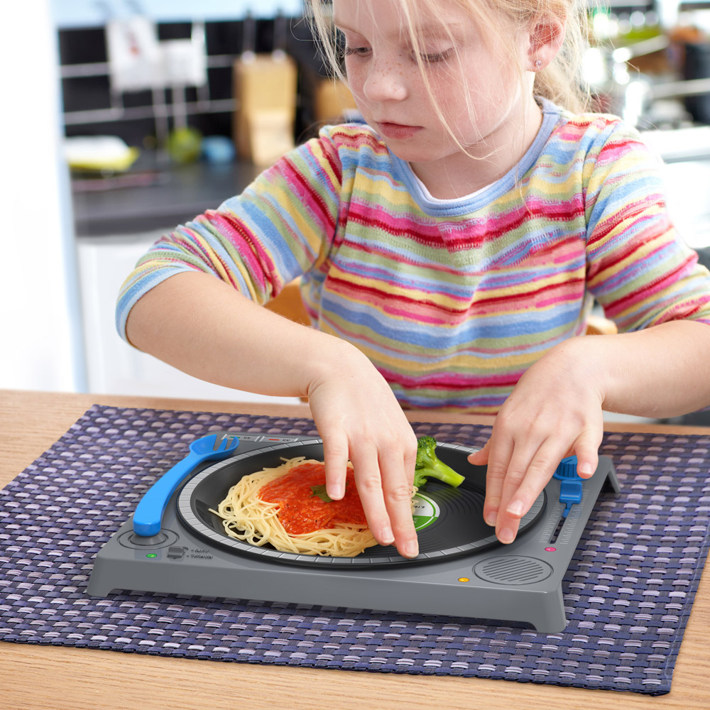 Dinner Dj An Interactive Dinner Set For Kids That