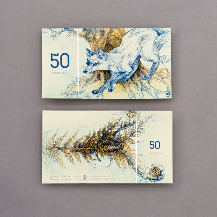 Beautiful Hungarian Currency Design