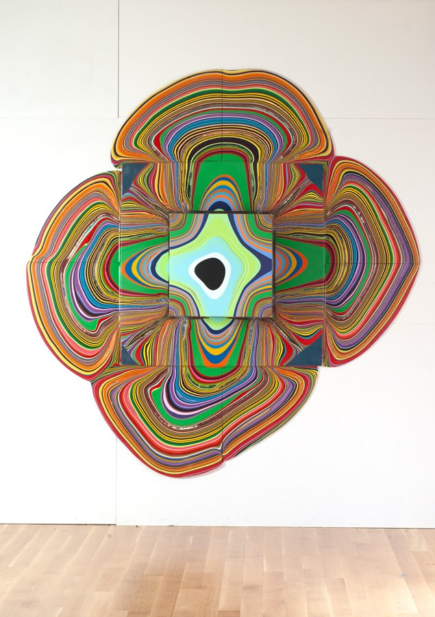 Captivating time lapses of artist holton rower creating for Paint n pour