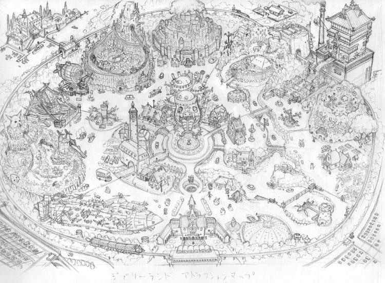 Tokyo Ghibli Land Draft