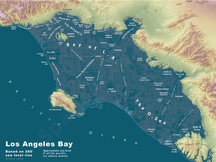 Sea Rise City Maps