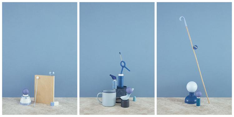 Blue Triptych