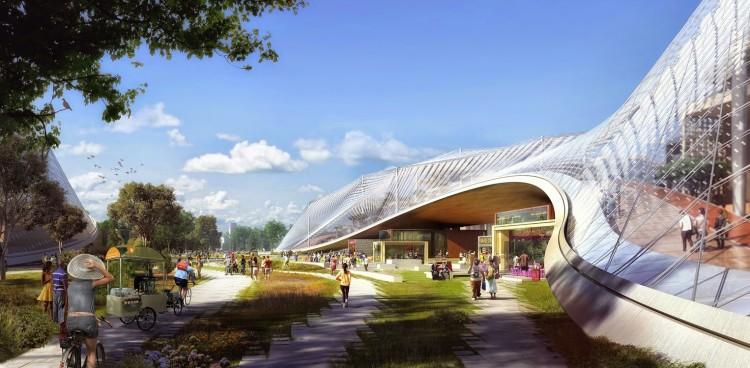 New Google Campus Design