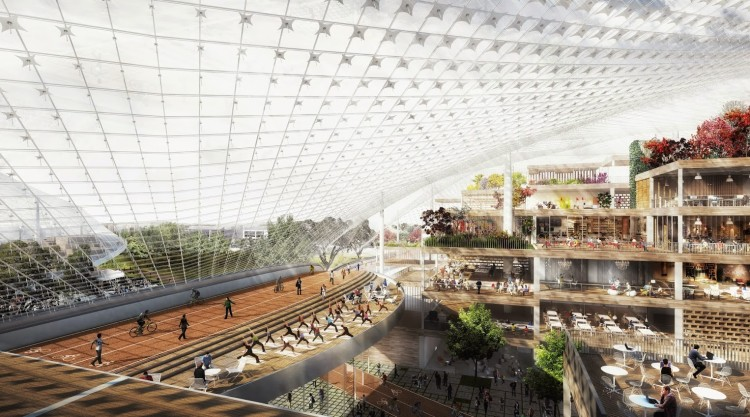 New Google Campus Design