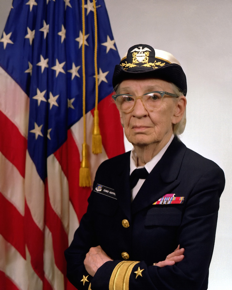 Commodore Grace M. Hopper, USN
