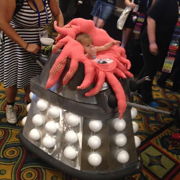 An Ingenious Baby Stroller Fashioned As The Doctor Who