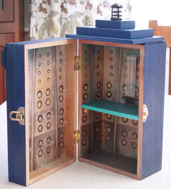 10th Doctor TARDIS Jewelry Box