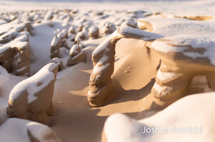 Frozen Sand Formations - Joshua Nowicki3