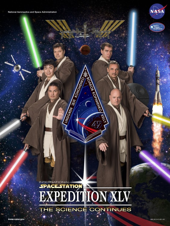 ISS Expedition 45