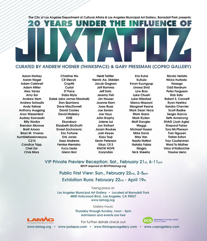 20 Years Under the Influence of Juxtapoz
