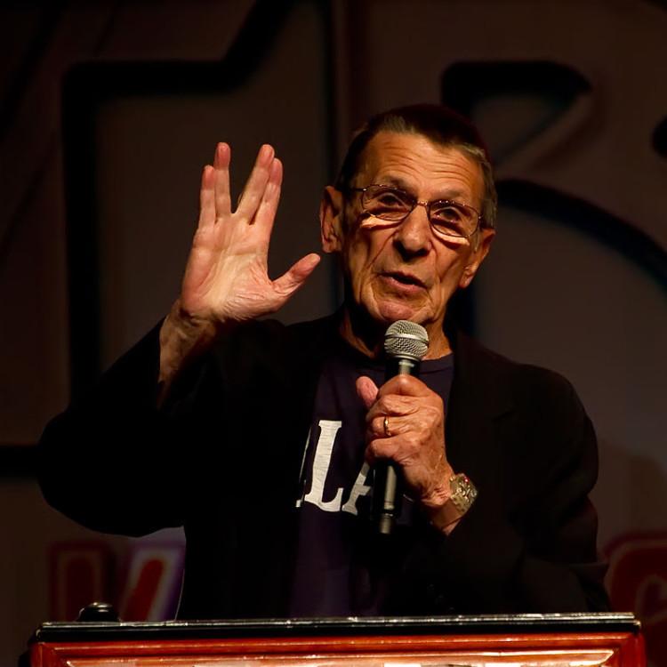 Leonard Nimoy 2011
