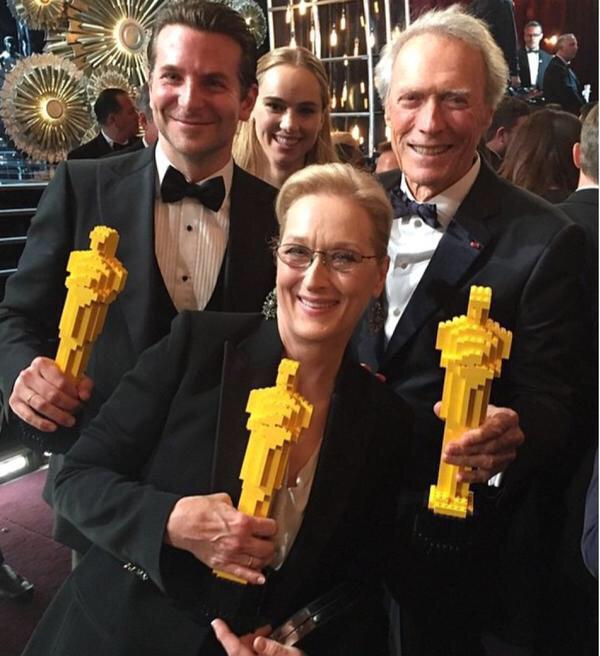 Meryl, Clint and Bradley