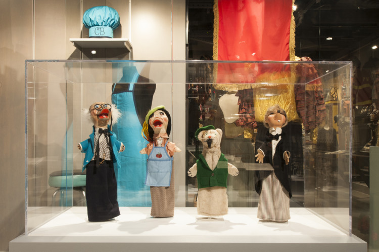 Mister Rogers' Puppets