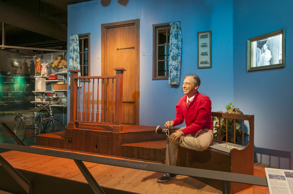 The Set From Mister Rogers Neighborhood Recreated At Heinz History Center In Pittsburgh Pa