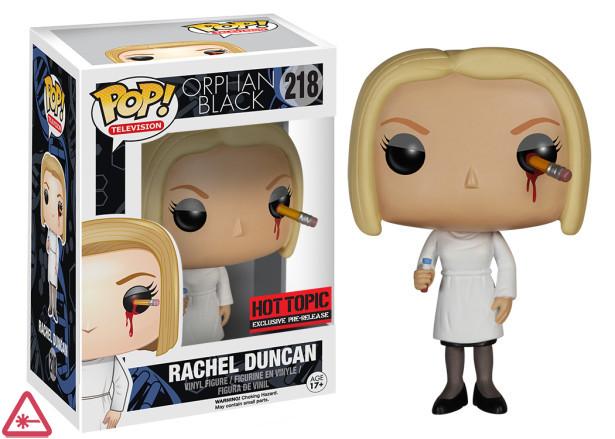 Rachel Duncan with Pencil in Eye