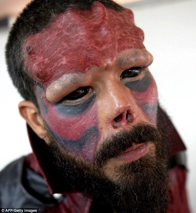 Red Skull Henry Damon