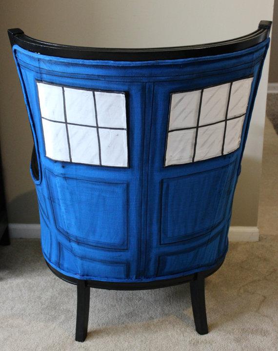 TARDIS Chair Back