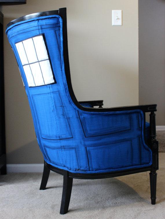 TARDIS Chair Side
