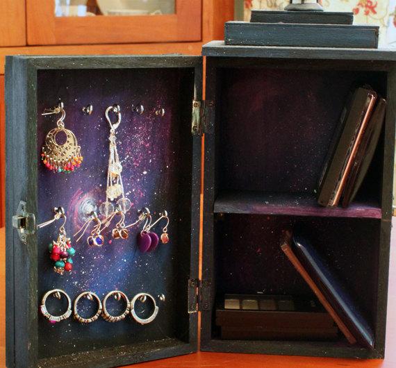 Universe TARDIS Jewelry Box