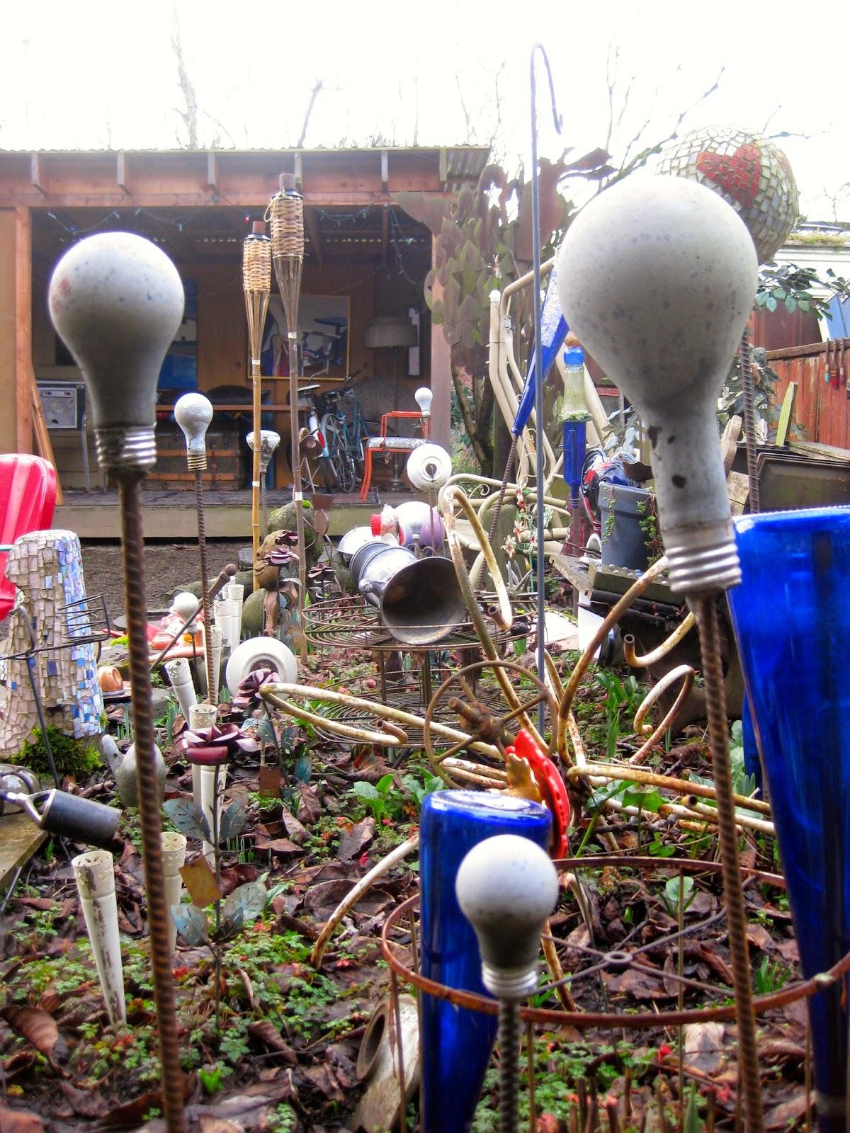 Cement light bulbs