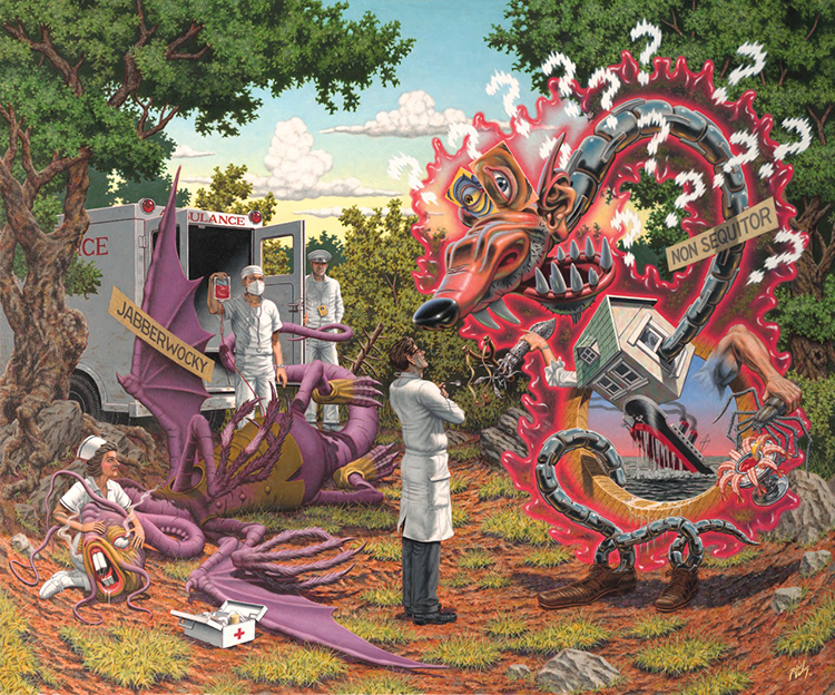 Death by Exasperation by Robert Williams