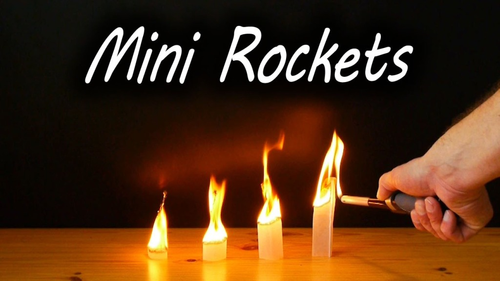 How to Make Quick and Easy Mini-Rockets From Simple Tea Bags