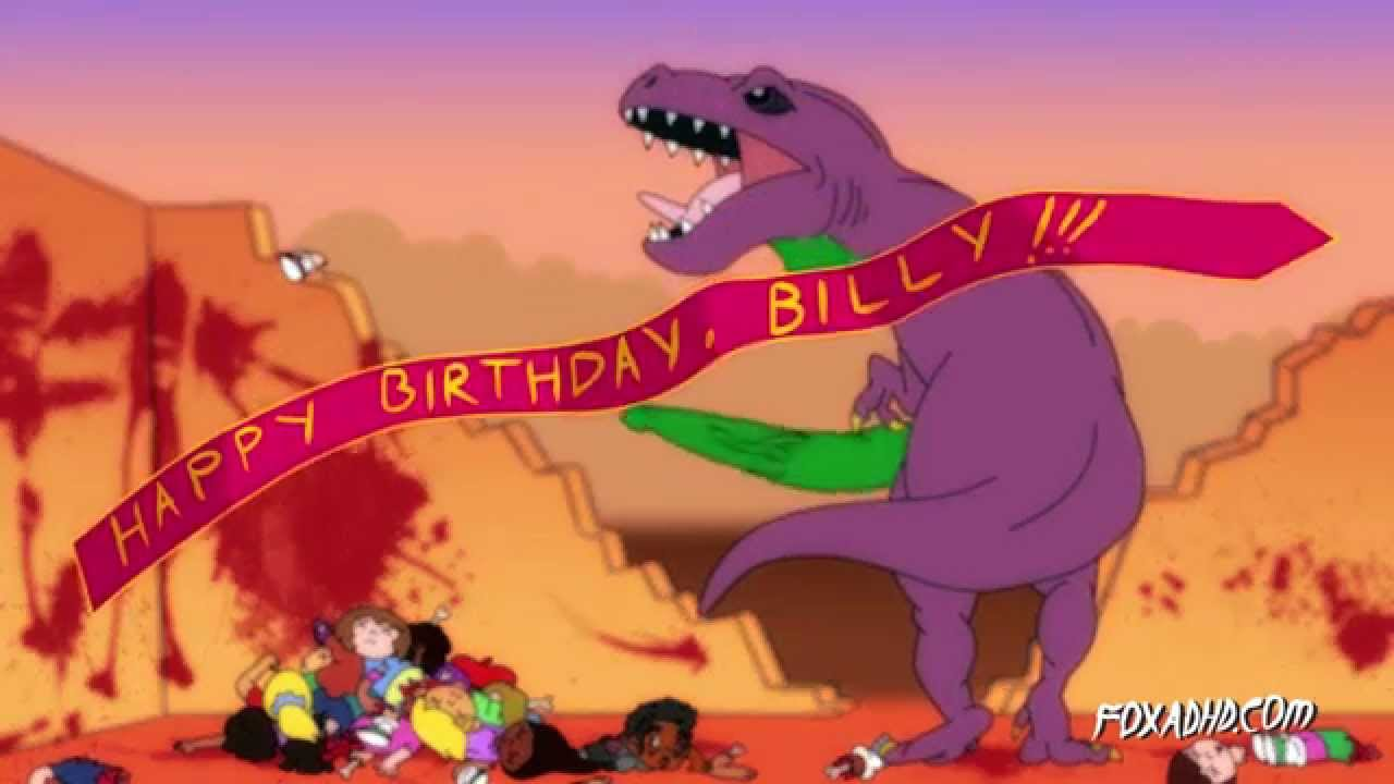 A Scientifically Accurate Look at Barney the Purple Anthropomorphic Dinosaur From 'Barney & Friends'