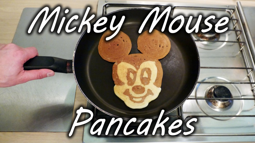 A Simple Recipe and Tutorial on How to Make Mickey Mouse Pancakes