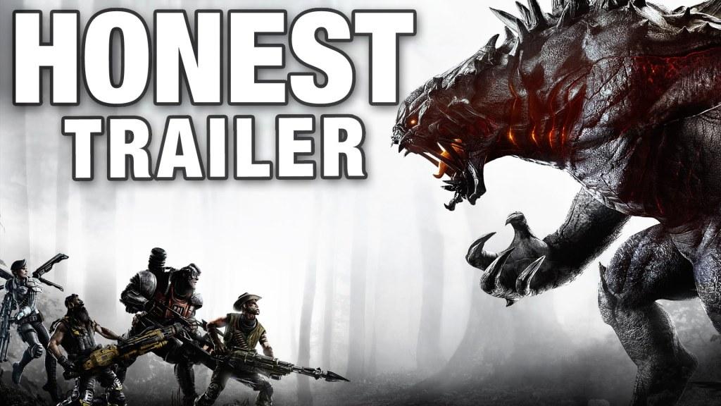 An Honest Trailer for the New Asymmetrical Multiplayer Video Game 'Evolve'