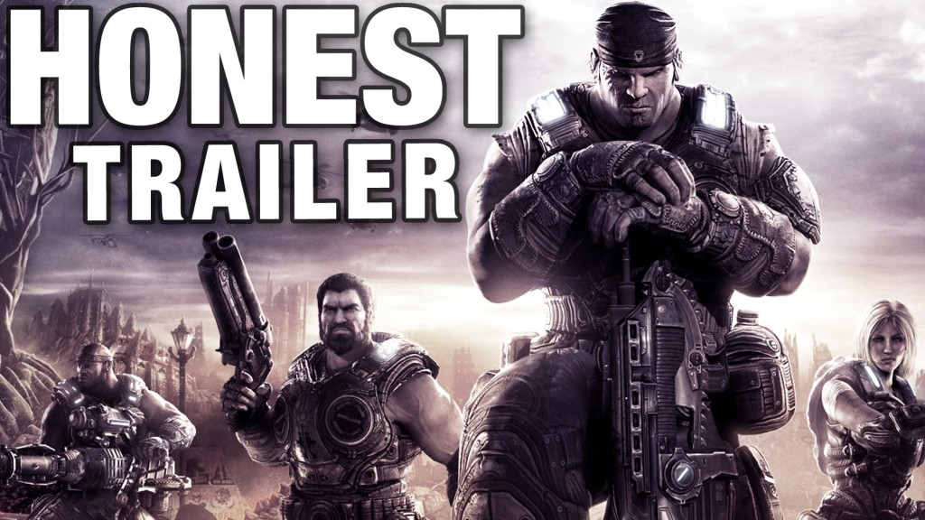 An Honest Trailer for the Video Game 'Gears of War'