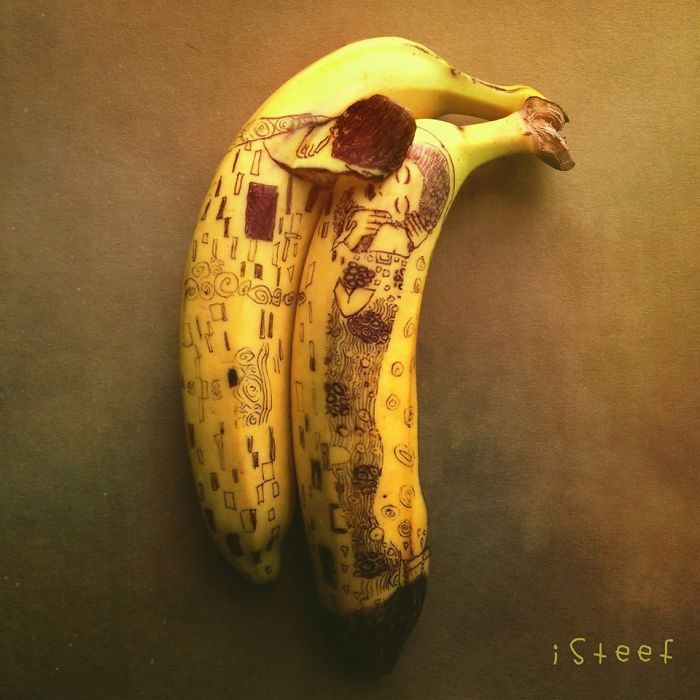 Clever Banana Art by Stephan Brusche