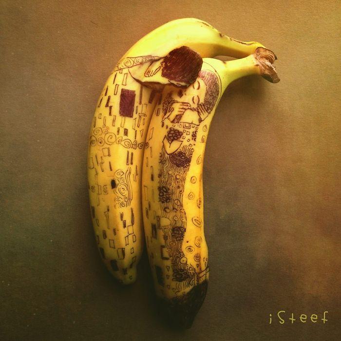 Clever Banana Art by Stephan Brusche
