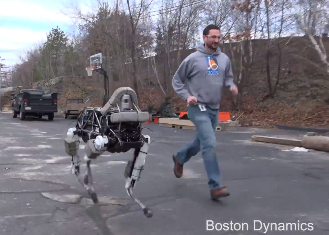 Boston Dynamics Introduces Spot, A Highly Mobile Four-Legged Robot the Size of a Large Dog