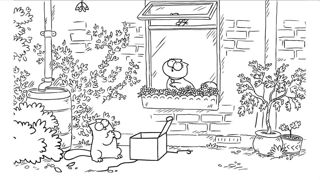 Simon's Cat Offers a Romantic But Misunderstood Present to His Sweetheart for Valentine's Day
