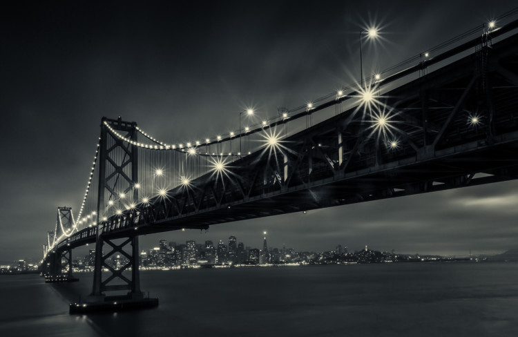 'Gotham City SF', A Stylish Black and White Photography and Time-Lapse Project Documenting San Francisco