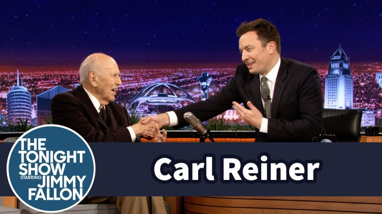Comedy Legend Carl Reiner Recreates His First Television Appearance on 'The Tonight Show Starring Jimmy Fallon'