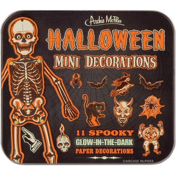 HALLOWEEN MINI DECORATIONS