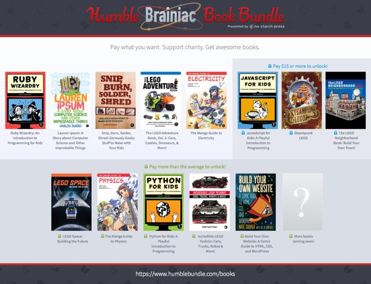 humble brainiac bundle