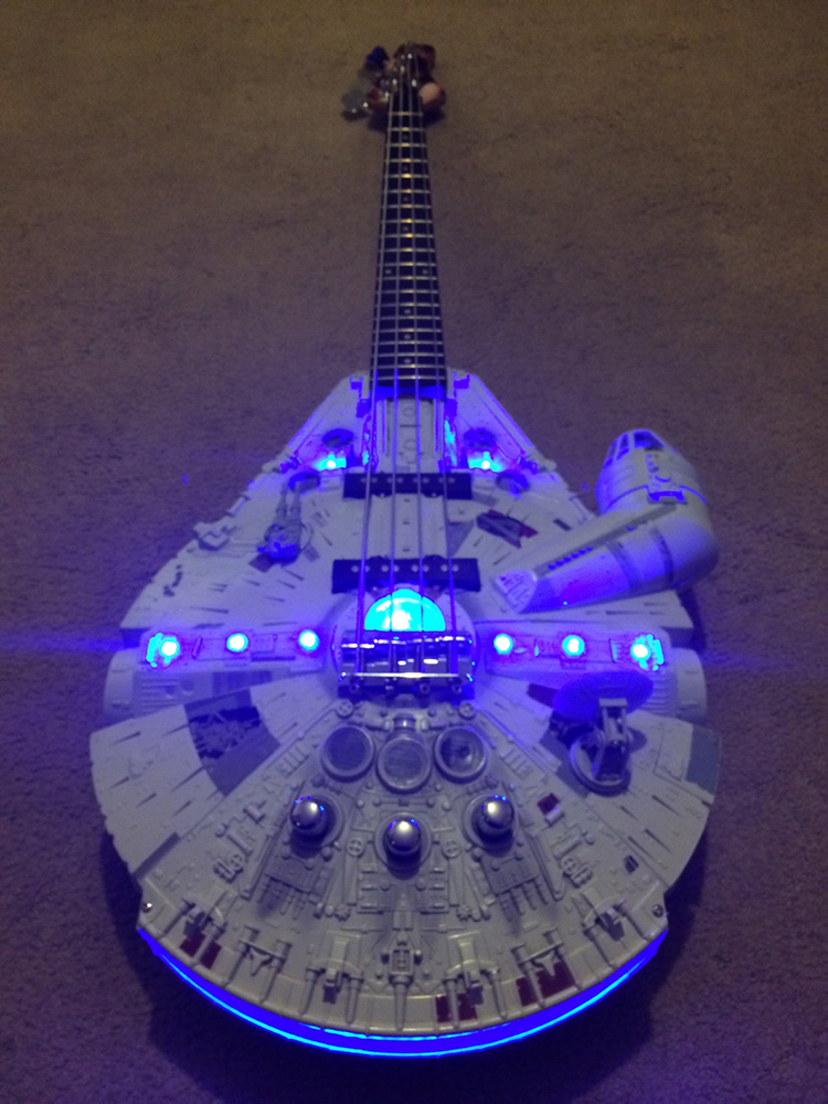 Rebel Bass Guitar - Star Wars