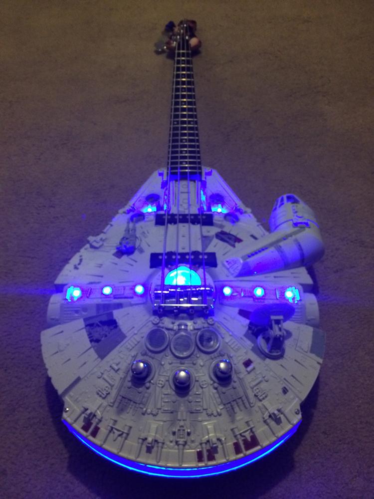 A Custom-Built 'Star Wars' Millennium Falcon Six-String ...