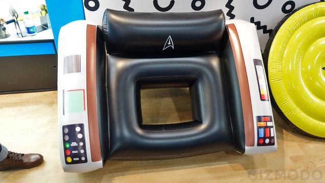 Star Trek Captain's Chair Float