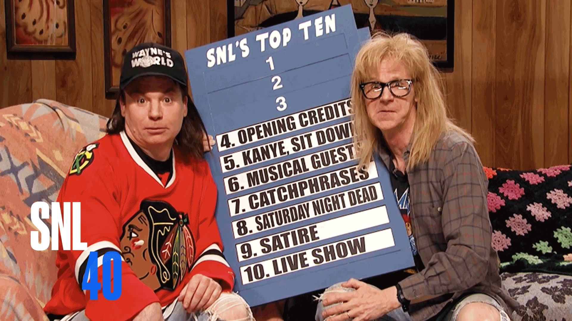 Mike Myers And Dana Carvey Bring Back Wayne And Garth In A