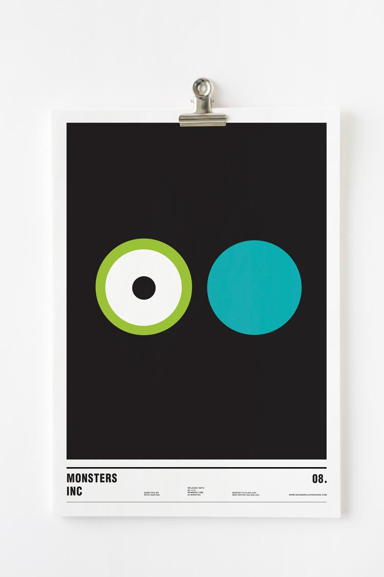 Minimalist Movie Posters With Only Circles