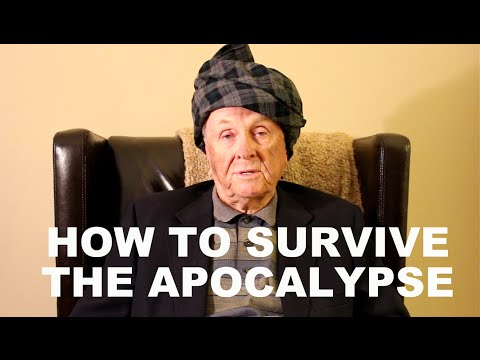 Mr. Forthright Gives Advice on How Best to Survive an Apocalypse