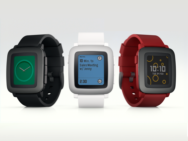 Pebble Time, A New Smartwatch From Pebble With a Color ...