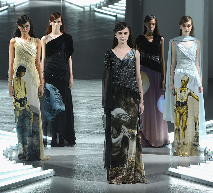 Rodarte Mercedes-Benz Fashion Week Fall 2014 by Slaven Vlasic for Getty Images