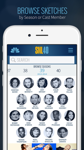 SNL iPhone App